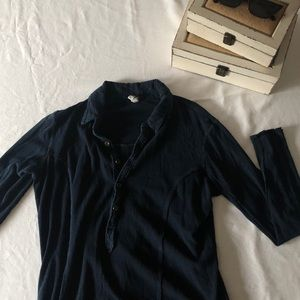FP WE THE FREE 1/2 BUTTON UP SHIRT